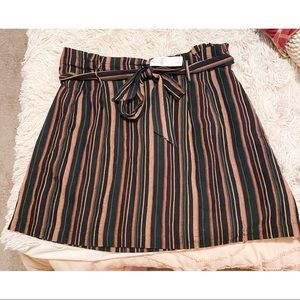 American Eagle Striped Skirt